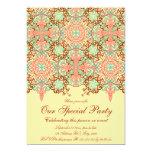 Intricate Arabesque, 5x7 customizable invitation