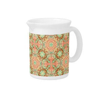 Intricate Arabesque, pitchers