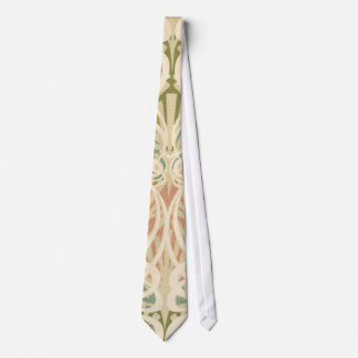 intricate art deco art nouveau abstract art neck tie