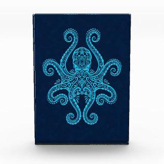 Intricate Blue Octopus Awards