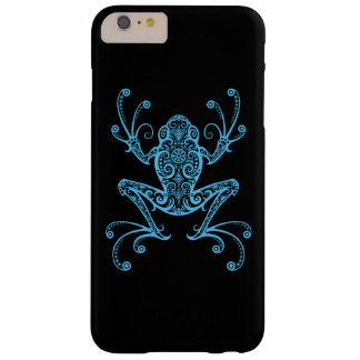Intricate Blue Tree Frog Barely There iPhone 6 Plus Case