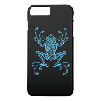 Intricate Blue Tree Frog iPhone 7 Plus Case