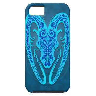 Intricate Blue Tribal Aries iPhone 5 Covers