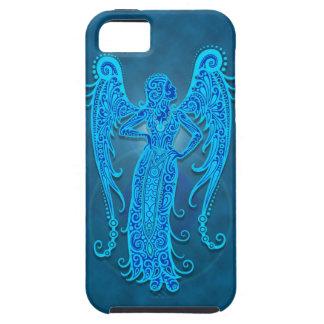 Intricate Blue Tribal Virgo iPhone 5 Case