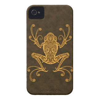 Intricate Brown Tree Frog iPhone 4 Case-Mate Case