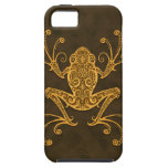 Intricate Brown Tree Frog iPhone 5 Covers