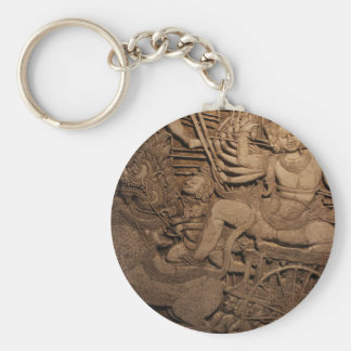 INTRICATE BUDDHIST MURAL KEY CHAINS