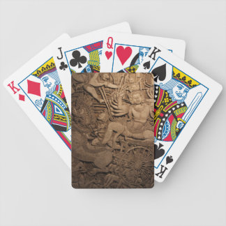 INTRICATE BUDDHIST MURAL DECK OF CARDS