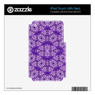 Intricate Buddhist Pagoda Pattern Decal For iPod Touch 4G