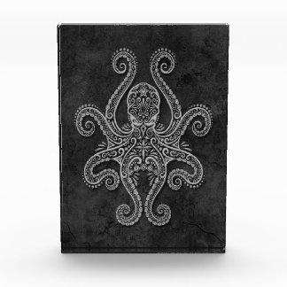 Intricate Dark Stone Octopus Awards