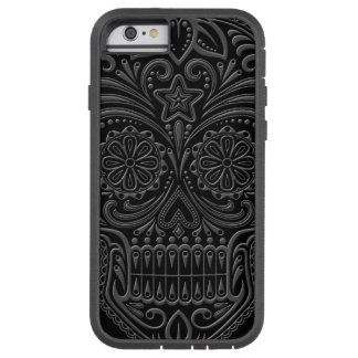 Intricate Dark Sugar Skull Tough Xtreme iPhone 6 Case