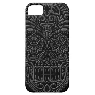 Intricate Dark Sugar Skull iPhone SE/5/5s Case