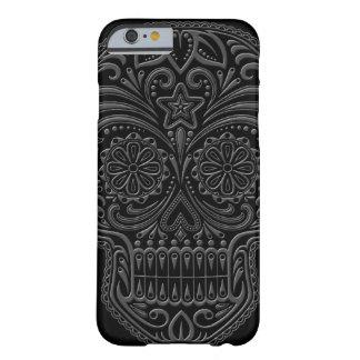 Intricate Dark Sugar Skull iPhone 6 Case