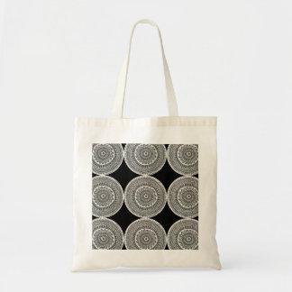 Intricate delicate design tote bag