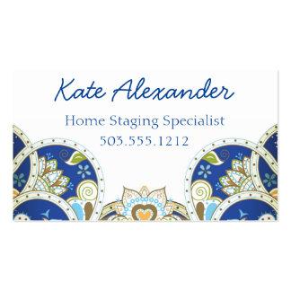 Intricate Design Business Card