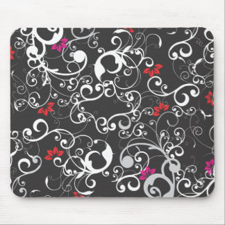 Intricate Elegant Floreal Mouse Pad