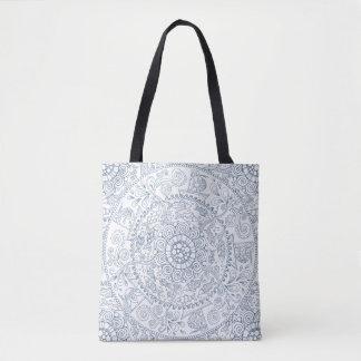 Intricate Fish Pattern Tote Bag