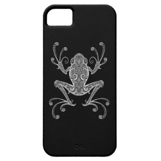 Intricate Gray Tree Frog iPhone 5 Case
