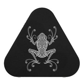 Intricate Gray Tree Frog Speaker