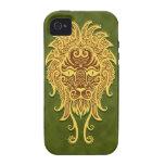 Intricate Green Tribal Leo iPhone 4/4S Case