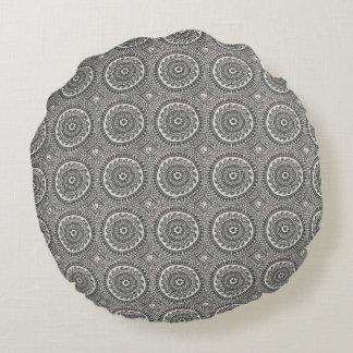 Intricate handmade designer pillow