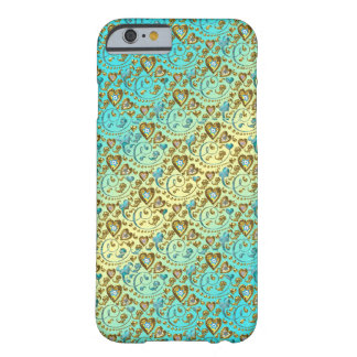 Intricate Heart Design Barely There iPhone 6 Case