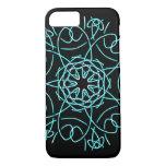 intricate knotwork mandala iphone case