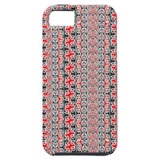 Intricate Maori Pattern iPhone 5 Case
