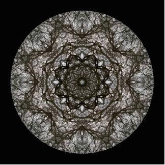Intricate pattern. Decorative design. Photo Cutouts