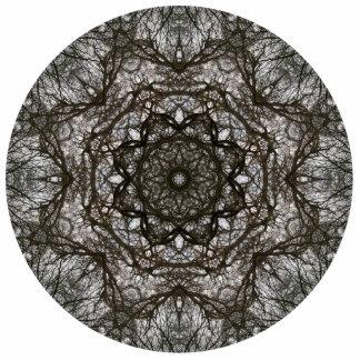 Intricate pattern. Decorative design. Photo Sculptures