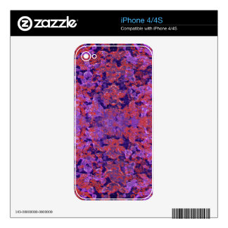Intricate Patterned Textured Skins For iPhone 4S