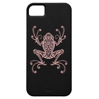 Intricate Pink Tree Frog iPhone 5 Covers