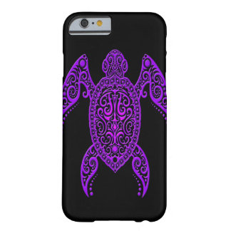 Intricate Purple and Black Sea Turtle Barely There iPhone 6 Case