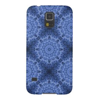Intricate Royal Blue Kaleidoscope Pattern Galaxy S5 Case