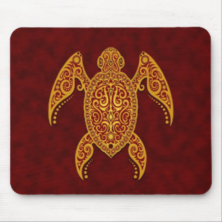 Intricate Sea Turtle Mouse Pad