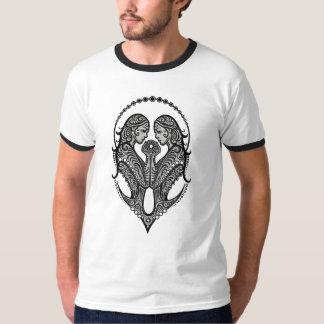 Intricate Tribal Gemini Tee Shirt