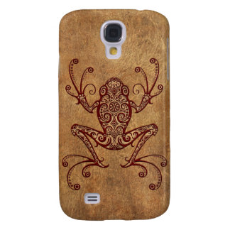 Intricate Vintage Tree Frog Galaxy S4 Cover