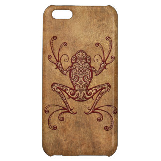 Intricate Vintage Tree Frog iPhone 5C Covers