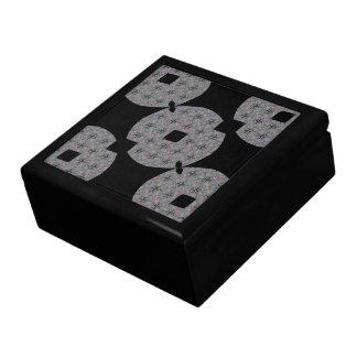 Intricate Wovens - Designer Florals Jewelry Box