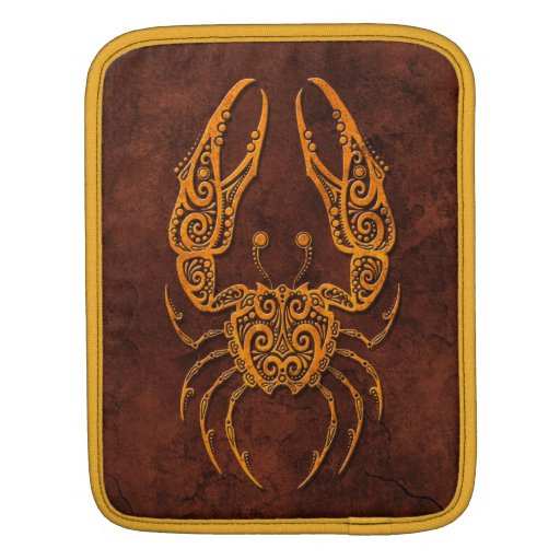 Intrictate Stone Cancer Symbol Sleeve For iPads