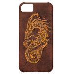 Intrictate Stone Capricorn Symbol Case For iPhone 5C