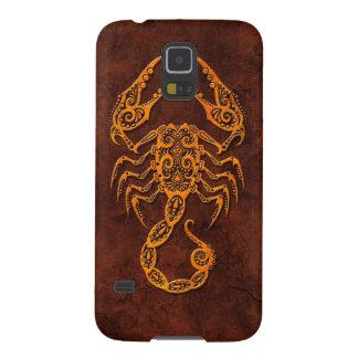 Intrictate Stone Scorpio Symbol Galaxy S5 Case
