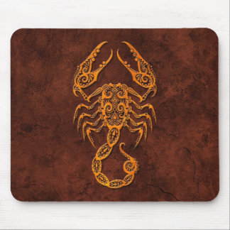 Intrictate Stone Scorpio Symbol Mousepad