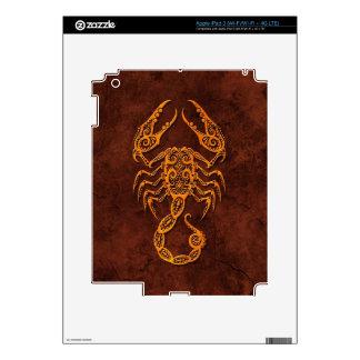 Intrictate Stone Scorpio Symbol iPad 3 Skin