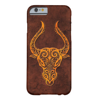 Intrictate Stone Taurus Symbol Barely There iPhone 6 Case