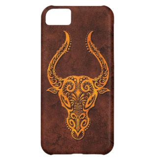 Intrictate Stone Taurus Symbol Case For iPhone 5C