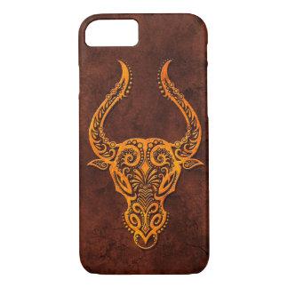 Intrictate Stone Taurus Symbol iPhone 7 Case