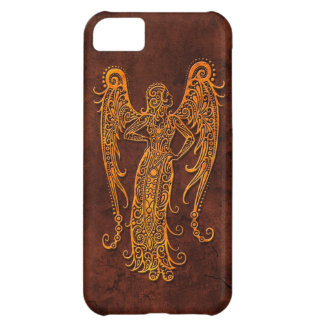Intrictate Stone Virgo Symbol Cover For iPhone 5C