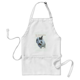 Intrigue Bunny Adult Apron