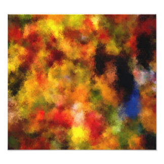 intriguing colorful pattern photographic print